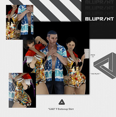 "Bluprnt - ""Gaki"" F Buttonup Shirt @ equal10"