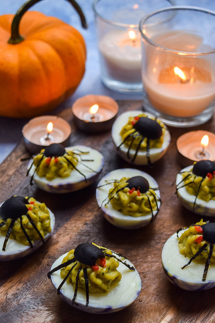 How To Make Devilled Spiders Eggs for Halloween