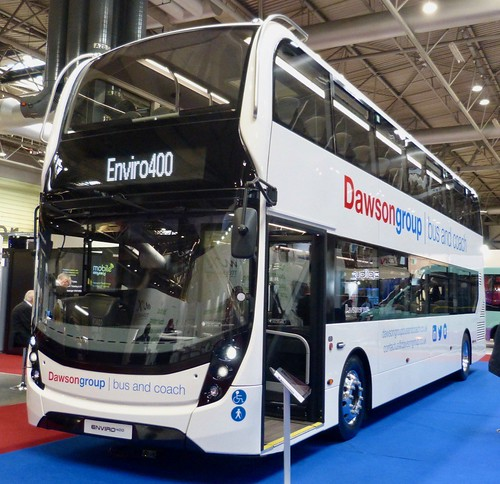 Alexander Dennis Ltd. (ADL) E40D / 'ADL' Enviro 400MMC. Dawson group on Dennis Basford's railsroadsrunways.blogspot.co.uk'