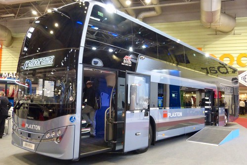 Volvo B11RLE / Plaxton Panorama demonstrator on Dennis Basford's railsroadsrunways.blogspot.co.uk'