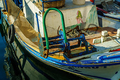 Details from a fishing boat