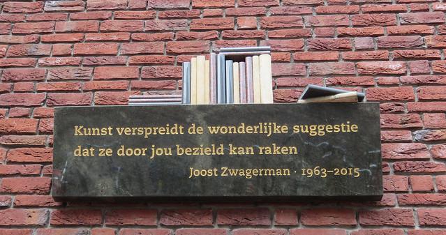 Monument voor Joost Zwagerman