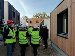 Visite de chantier Les Champs Libres