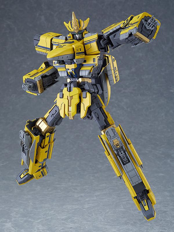 MODEROID Shinkalion 黃博士號 《新幹線變形機器人》系列最大尺寸套件!