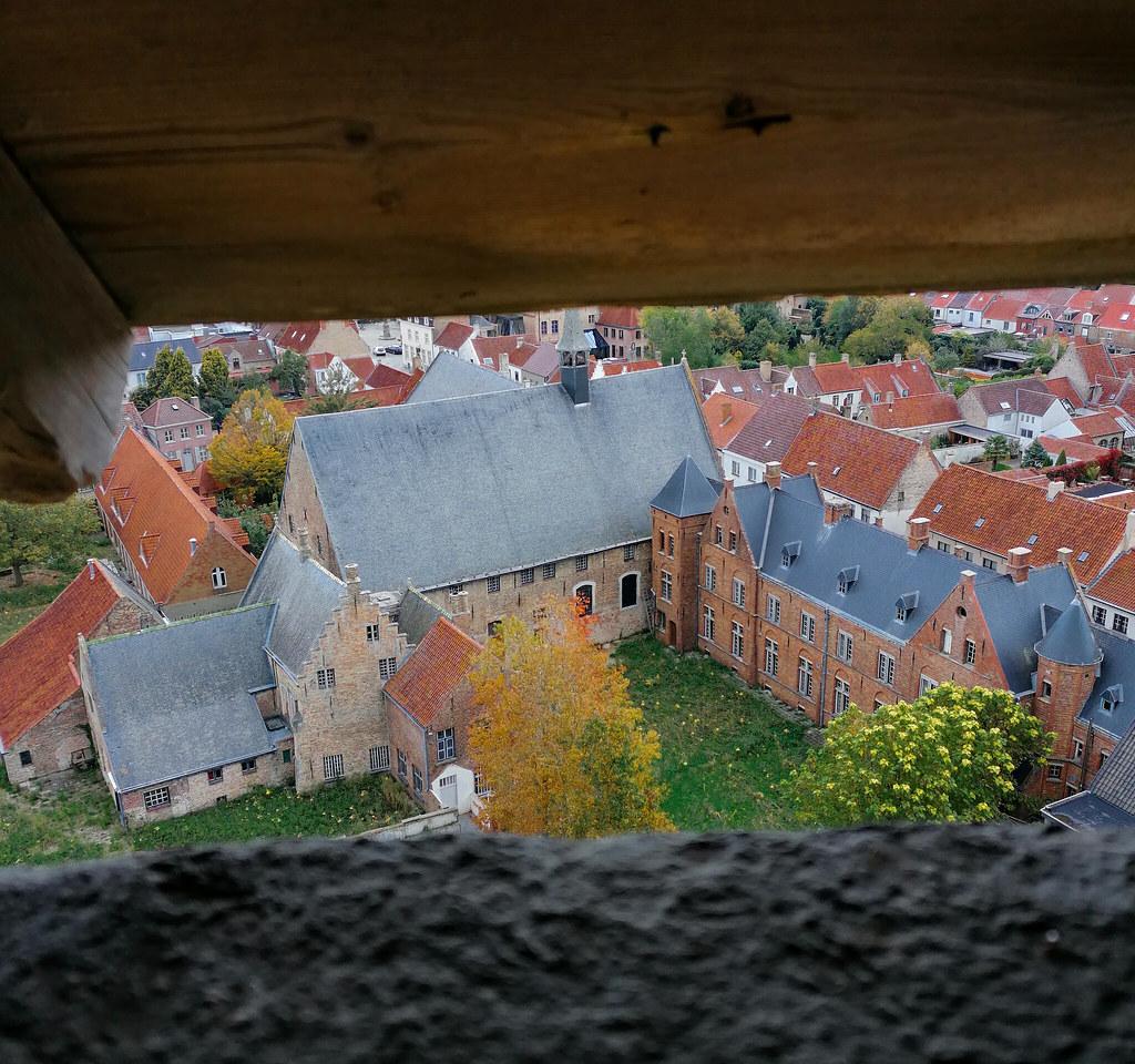 Vistas desde la torre de Damme
