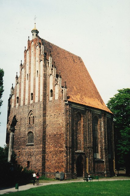 Eglise collégiale de la Vierge Marie, XVe, Ostrów Tumski, Poznan, Grande-Pologne, Pologne.