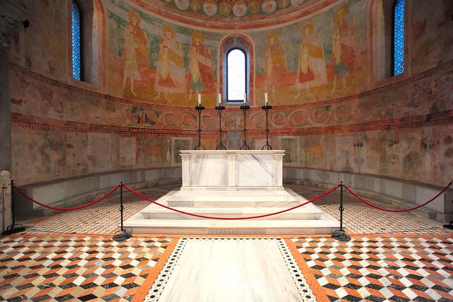 Basilica di Santa Maria Assunta, Aquileia (Friuli Venezia Giulia) Italy, June 2020 049