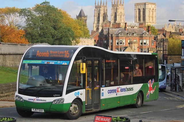 Connexions Buses YJ67 GGO