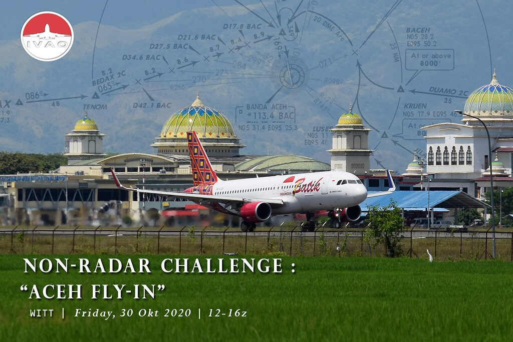 [ID] Non Radar Challenge : Aceh Fly-In