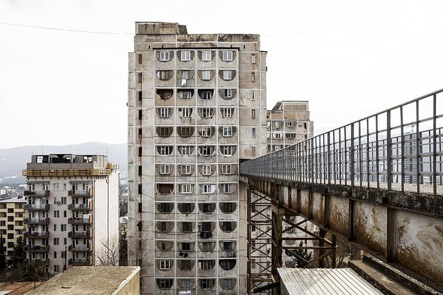 Housing complex.