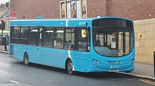 Arriva North East VDL SB200 Wright Pulsar 2 NK09 BPZ seen here in the new Arriva blue brand