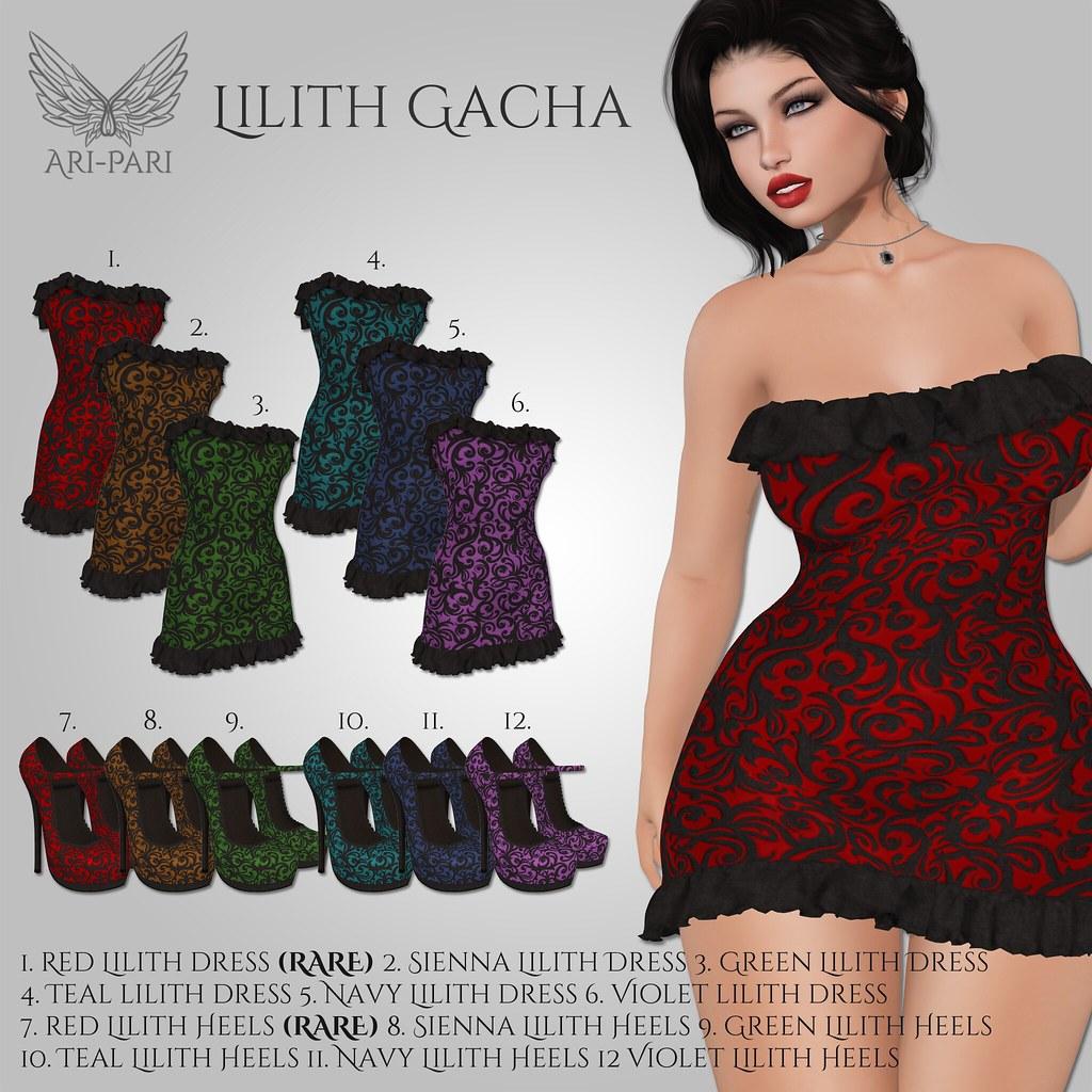 [Ari-Pari] Lilith Gacha