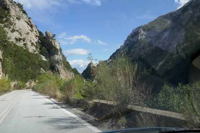 Taygetos Pass