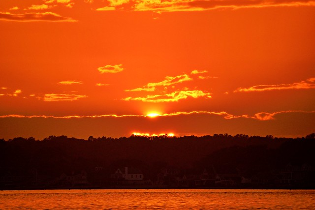 Connecticut Seascapes and Sunsets #45