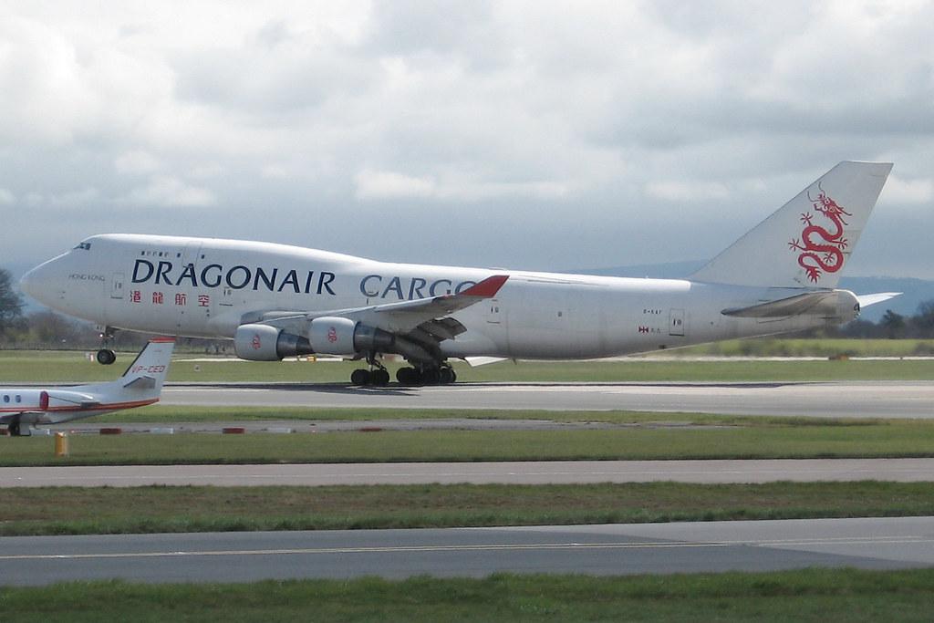B-KAF   Boeing 747-412(BCF)   Dragonair