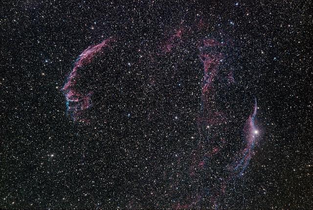 NGC 6992, Veil Nebula, Cygnus