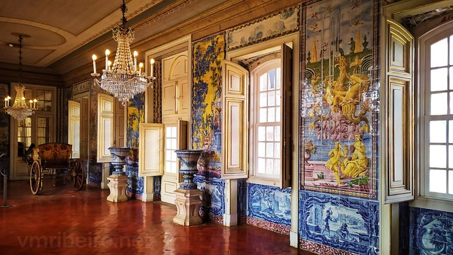 Interior do Palácio de Queluz