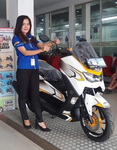 Yamaha NMax tampil Beda