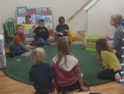 small group kindergarten work