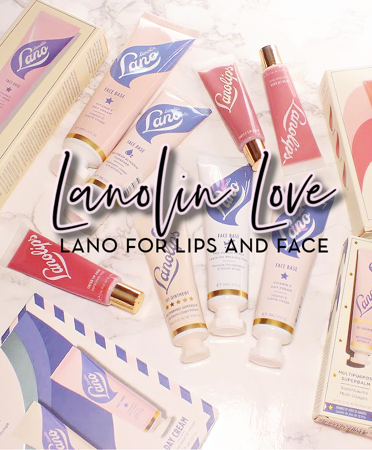 lanolin lovin lano lips face review
