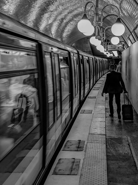 In der Metro von Paris