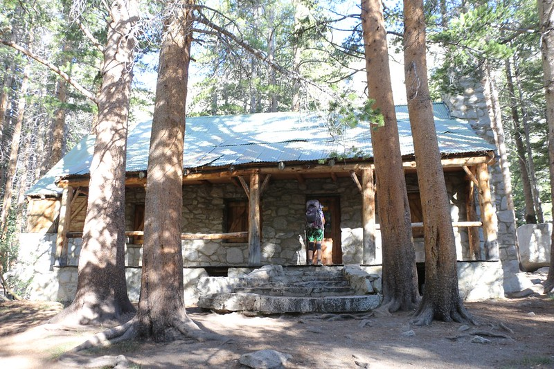Lon Chaney's Cabin on the NF Big Pine Creek Trail