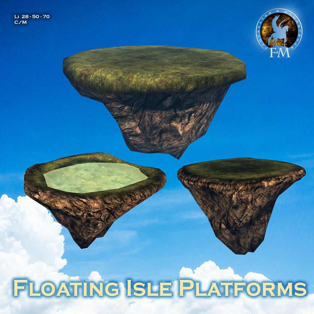 F&M * Floating Isle Platforms
