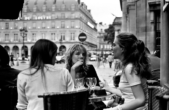 The girl from Hotel du Louvre