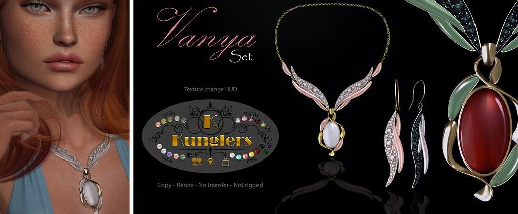 KUNGLERS - Vanya set