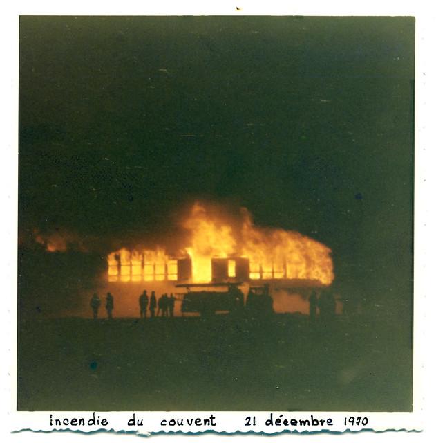 Incendie du couvent de Val-Brillant