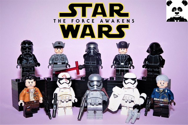 The Force Awakens - Part 2 [Star Wars Minifigs #16]