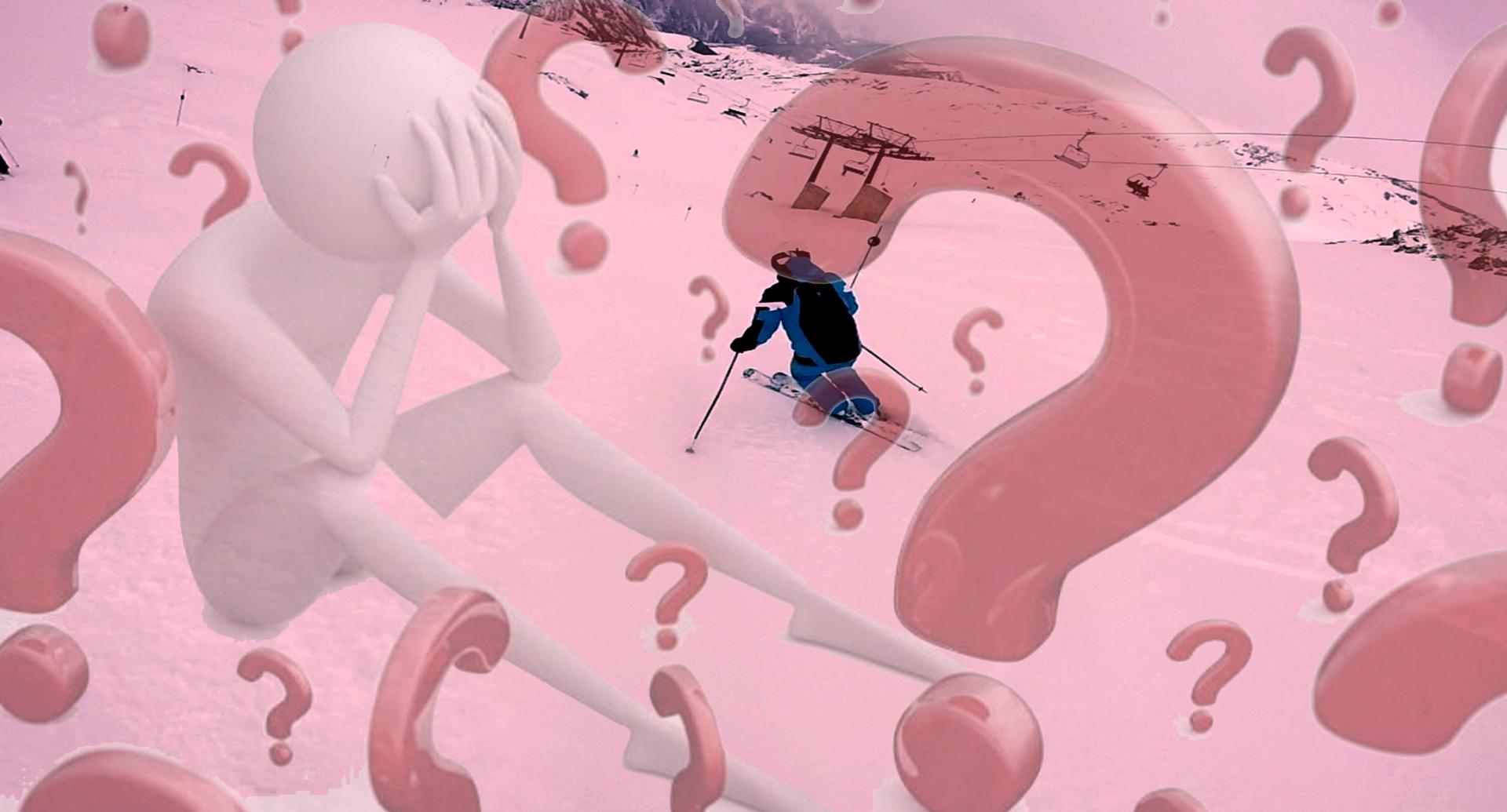 Incertidumbre en el esquí