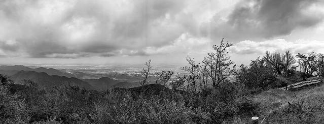 View from Oyama peak