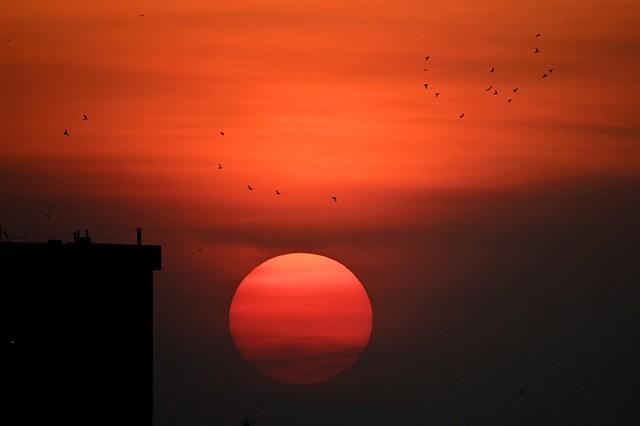 Autumn Dhaka Sunset