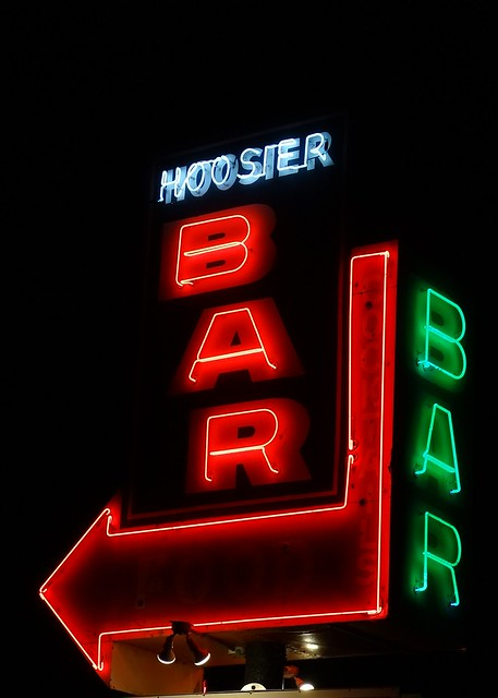 FL, Osprey-U.S. 41 Hoosier Bar Neon Sign