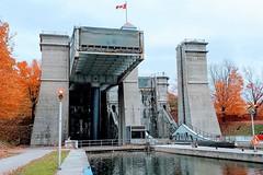 The Peterborough Lift Lock