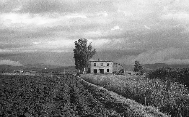 Rural Tuscany landscape