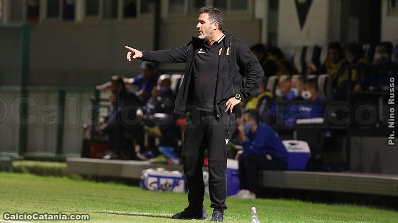 Cristiano Lucarelli, ex tecnico rossazzurro, alla prima promozione come tecnico
