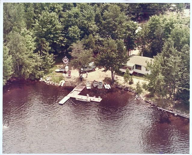 Hughes Landing, Skootamatta Lake -  1974