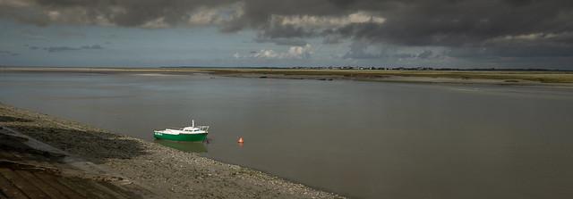 Le bateau vert - The green boat