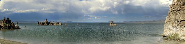 Mono Lake - Lee Vining, California - Panorama
