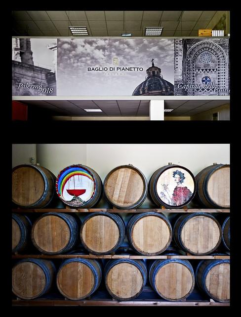photo - Baglio di Pianetto Winery, Entrance collage