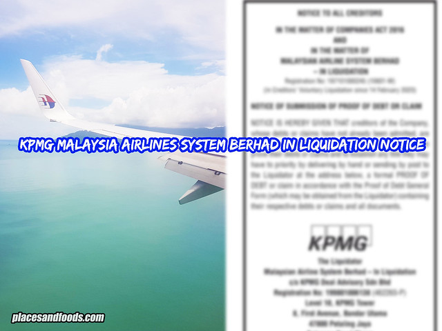 malaysia airlines kpmg