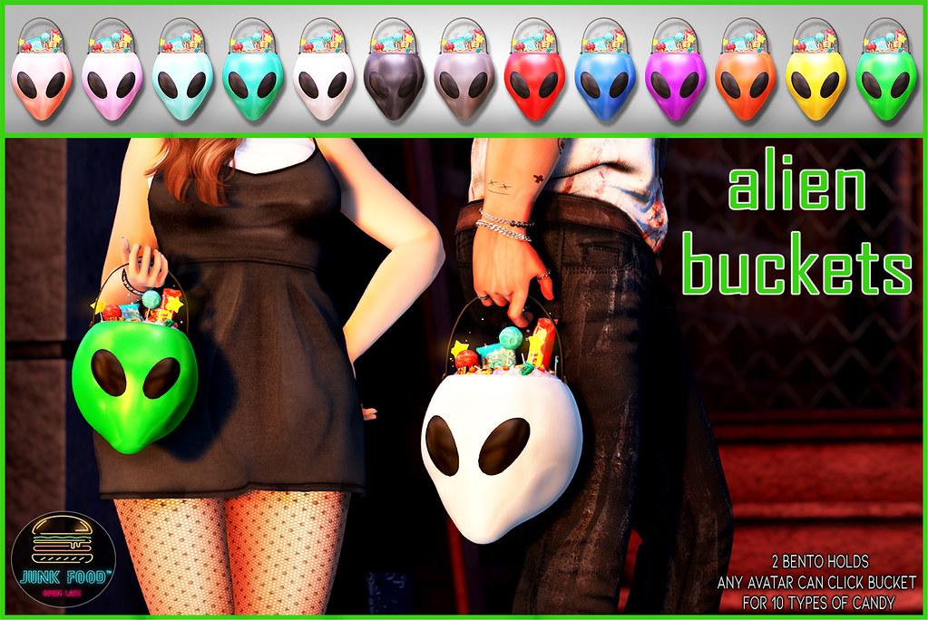 Junk Food – Alien Buckets Ad