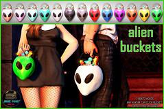 Junk Food - Alien Buckets Ad