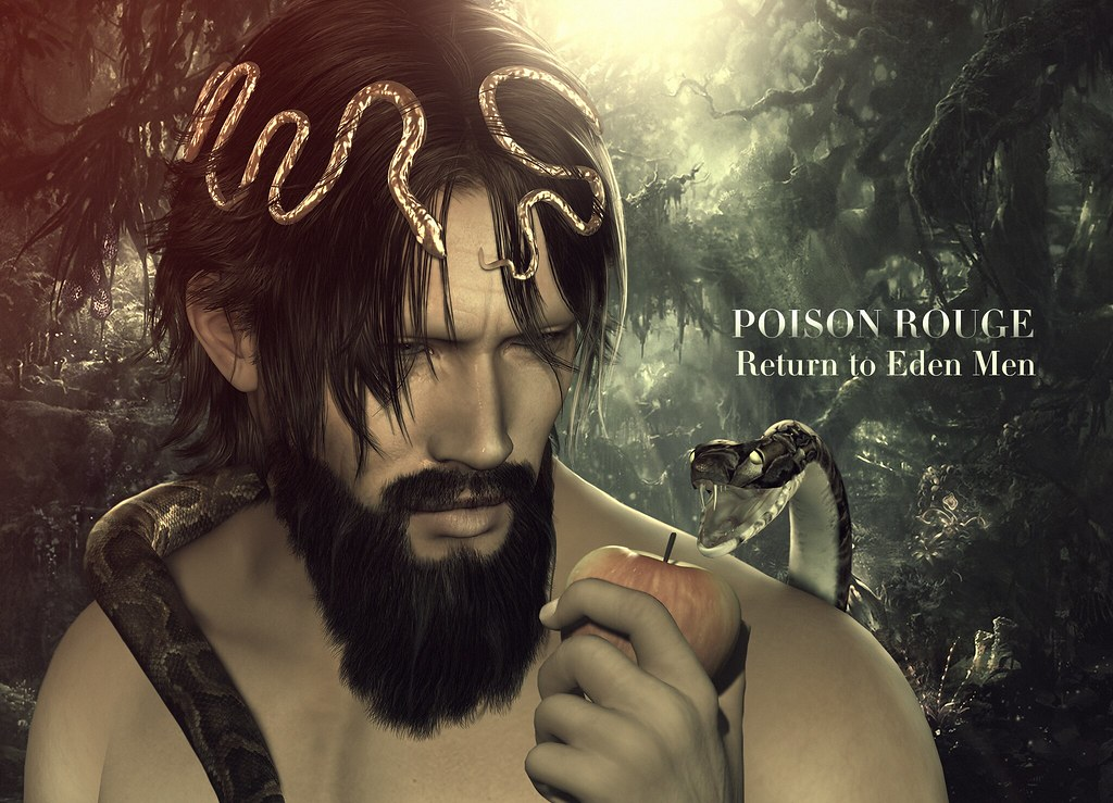 POISON ROUGE Return to Eden Men @Shiny Shabby