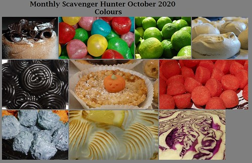 October 2020 Scavenger Hunt