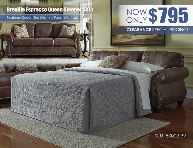 Breville Espresso Queen Sleeper Sofa_80003-39