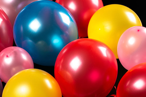 Colorful balloons background- holiday concept | by wuestenigel