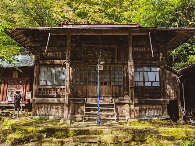 Mountainside shrine